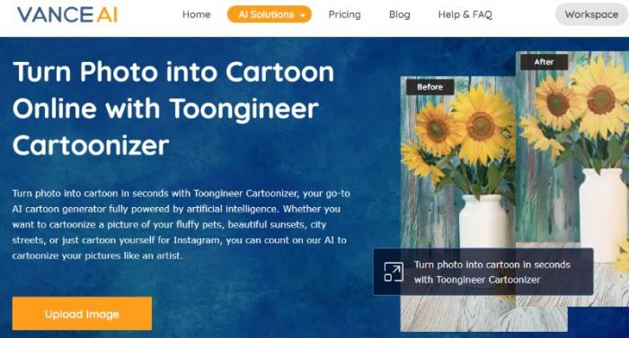 Turn a Picture into a Cartoon with Toongineer